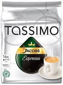 Tassimo T-Disc Jacobs Espresso coffee capsules, 16-pack