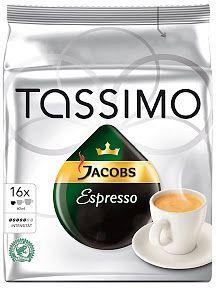 Tassimo T-Disc Jacobs Espresso Kaffeekapseln, 16er-Pack