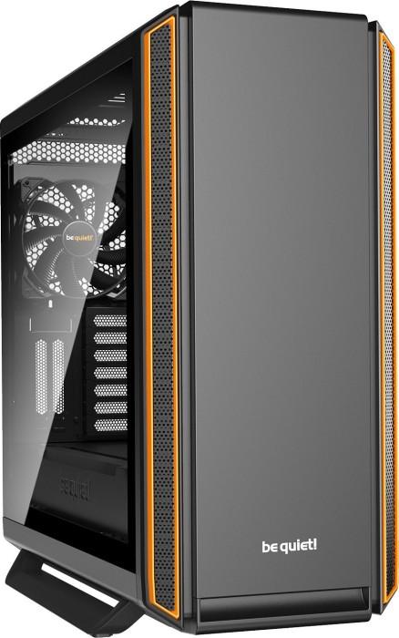 be quiet! Silent Base 801 orange, Glasfenster, schallgedämmt (BGW28)