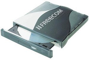 Freecom Traveller II DVD 8x/24 external USB2.0/PCMCIA (20029)