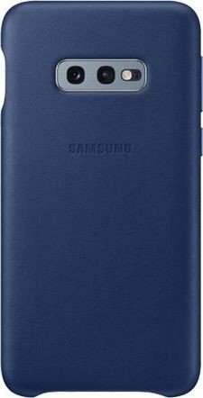Samsung Leather Cover für Galaxy S10e navy blau (EF-VG970LNEGWW)