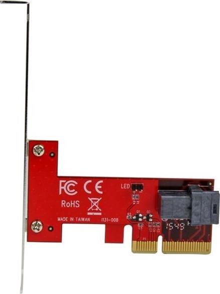 StarTech PCI Express Card > 1 x internal SFF-8643 NVMe (PEX4SFF8643)