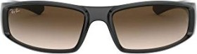 Ray-Ban RB4335 58mm black/brown gradient (RB4335-601/13)