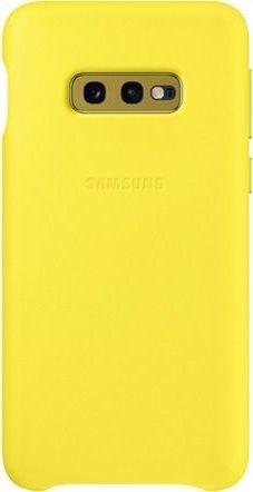 Samsung Leather Cover für Galaxy S10e gelb (EF-VG970LYEGWW)