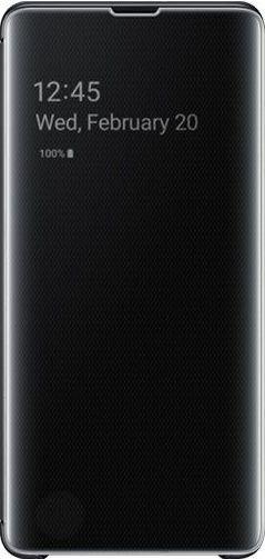 Samsung Clear View Cover für Galaxy S10+ schwarz (EF-ZG975CBEGWW)