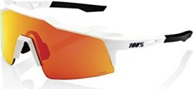 100% Speedcraft SL Soft tact off white/hiper red multilayer mirror-clear lens (61002-412-01)