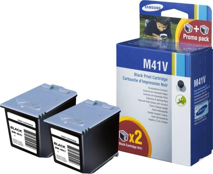 Samsung M41 Druckkopf mit Tinte schwarz, 2er-Pack (INK-M41V/ELS) -- via Amazon Partnerprogramm