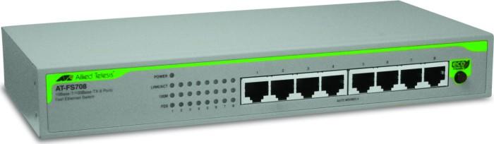 Allied Telesis FS700 Desktop Switch, 8x RJ-45 (AT-FS708)