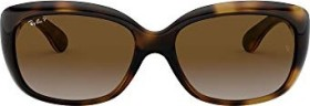 Ray-Ban RB4101 Jackie Ohh 58mm tortoise/brown gradient (Damen) (RB4101-710/T5)