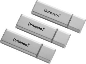 Intenso Alu Line silber 32GB, USB-A 2.0, 3er-Pack (3521483)