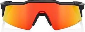 100% Speedcraft SL Soft tact off black/hiper red multilayer mirror-clear lens (61002-412-02)