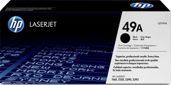 HP Toner 49A schwarz (Q5949A)