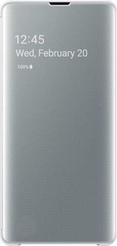 Samsung Clear View Cover für Galaxy S10+ weiß (EF-ZG975CWEGWW)