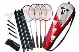 Talbot Torro Badmintonset 4-Fighter
