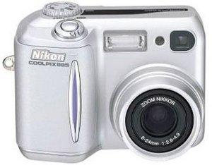 Nikon Coolpix 885 srebrny