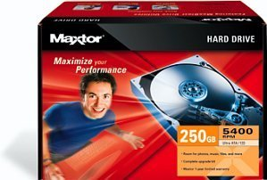 Maxtor 5400RPM Series Kit 250GB, IDE (K14J250)