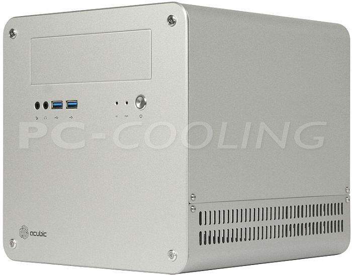 Abee acubic M20 silver, mini-ITX -- © pc-cooling.de