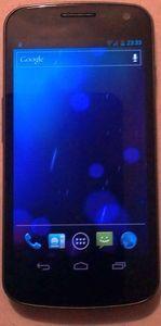 Samsung Galaxy Nexus i9250 16GB mit Branding -- dieses Bild wurde uns freundlicherweise von einem Nutzer zur Verfügung gestellt