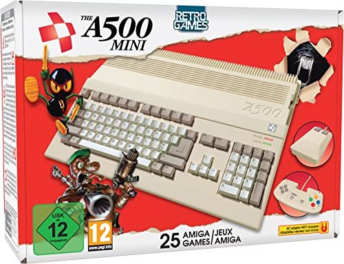 Retro Games Ltd. The A500 Mini -- via Amazon Partnerprogramm