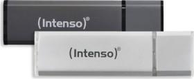 Intenso Alu Line anthrazit/silber 32GB, USB-A 2.0, 2er-Pack (3521480)