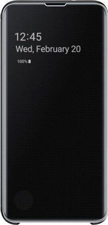 Samsung Clear View Cover für Galaxy S10e schwarz (EF-ZG970CBEGWW)