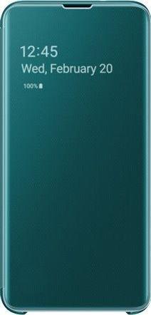 Samsung Clear View Cover für Galaxy S10e grün (EF-ZG970CGEGWW)