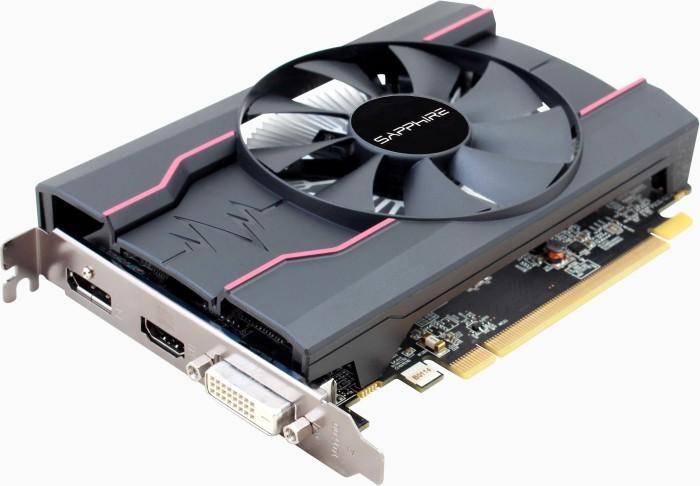 Sapphire Pulse Radeon RX 550 4G G5 [Lexa PRO], 4GB GDDR5, DVI, HDMI, DP, lite retail (11268-01-20G)