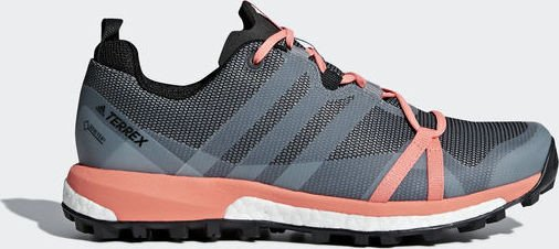 adidas Terrex Agravic GTX grey three/footwear white/chalk coral (Damen)  (CM7649) ab € 72,24