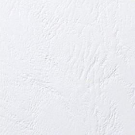 GBC cover LeatherGrain A4, matte, white, 100 pieces (CE040070)