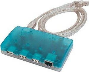 Allnet ALL0173, 1x 100Base-TX, USB 1.1