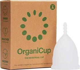 OrganiCup Size A menstrual cup
