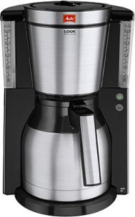 Melitta Look IV Therm DeLuxe stainless steel/black (1011-14)