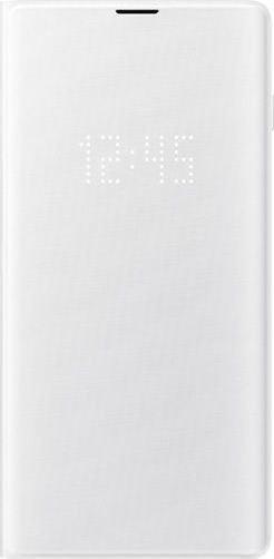 Samsung LED View Cover für Galaxy S10+ weiß (EF-NG975PWEGWW)