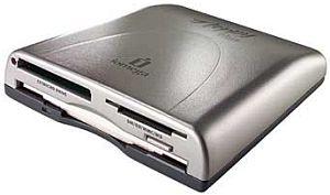 LenovoEMC Floppy Drive incl. 7in1 card reader, external, USB 2.0 (32999)