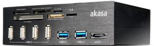 Akasa InterConnect Pro, USB 2.0 (AK-HC-05BK)