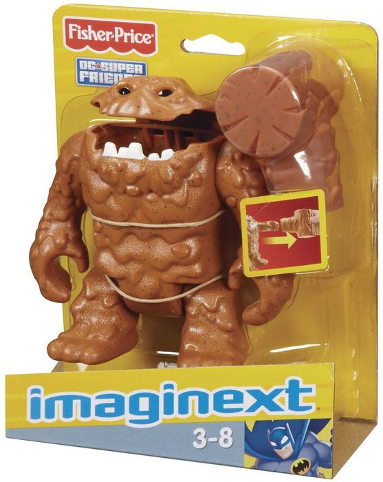 Mattel Fisher-Price Imaginext DC Super Friends Clayface (W1713)