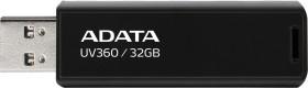 ADATA UV360 32GB, USB-A 3.0 (AUV360-32G-RBK)
