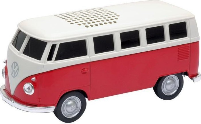 Genie VW Bus Bluetooth Speaker rot -- via Amazon Partnerprogramm