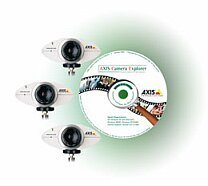 Axis 2100 Surveillance kit (4x Axis 2100 network camera)