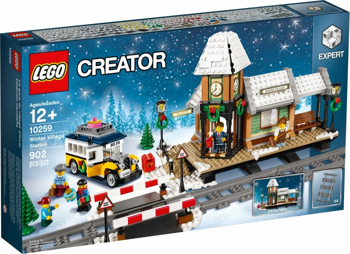 Lego Creator Expert Winterlicher Bahnhof Ab 59 90 2019