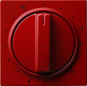 Gira Abdeckung mit Knebel für Zeitschalter 15 Minuten, rot (0640 43)