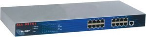 """Allnet ALL03161 NASTAQ 110 16*10/100Mbit hub 19"""""""
