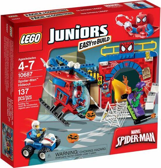 LEGO Juniors - Spider-Man: Hideout (10687)