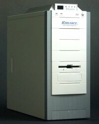 Koolance PC2-C Midi-Tower with integrated Water Cooling, white/grey (without power supply)