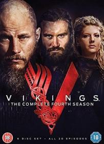 Vikings Season 4 (DVD) (UK)