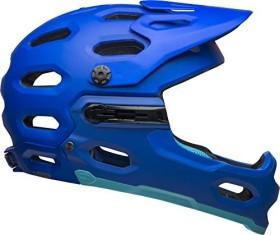 Bell Super 3R MIPS Fullface-Helm matte blue/bright blue