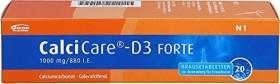 CalciCare D3 Forte 1000mg/880 I.E. Brausetabletten, 20 Stück