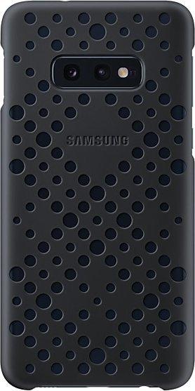 Samsung Pattern Cover für Galaxy S10e schwarz (EF-XG970CBEGWW)