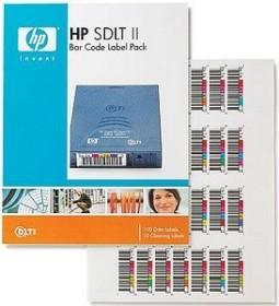 HP SDLTtape II Bar Code Label Pack, 100 Stück (Q2006A)