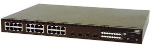 SMC TigerSwitch 10/100/1000 SMC8624T, 24-port, managed